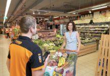 Het onderzoek Supreme Nudge gebeurt in acht Coop supermarkten. (Foto Coop)