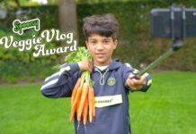 Maak in een vlog reclame voor jouw lievelingsgroente, bijvoorbeeld wortels.